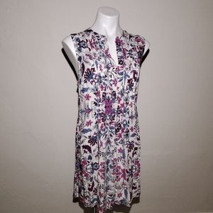 Old Navy Floral Pullover Dress